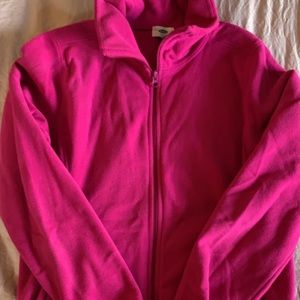EUC Old navy fleece jacket size large